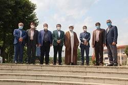ساخت یادمان شهدای گمنام دانشگاه آزاد اسلامی آیتالله آملی
