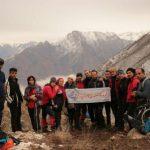 صعود گروه کوهنوردی پارسه به ارتفاعات کمرون