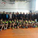 قهرمانی هنرستان تربیت بدنی المپیک در لیگ والیبال دانش آموزی شهرستان آمل