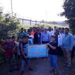 گزارش تصویری هماش پیاده روی در شهر امام زاده عبداله(ع) آمل