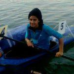 عضویت جوان آملی در تیم ملی قایقرانی رشته کایاک