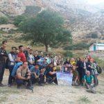 صعود ۱روزه گروههای کوهنوردی آمل به ارتفاعات وغار الیاس تنگه منطقه شاهاندشت+عکس