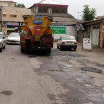 صدای شهروند/نقدی بر عملکرد شهرداری آمل در طرح نهضت آسفالت+عکس