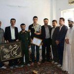 گزارش تصویری استقبال ودیدار مسئولین شهری آمل با قهرمان بوکس جوانان آسیا