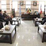 قول مساعد رئیس جدید دادگستری شهرستان برای کمک به طرح های توسعه ای شهرداری آمل