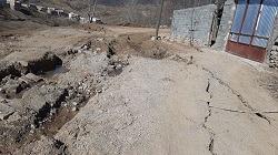 آسیب سیلاب به راه های روستایی لاریجان آمل