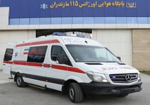تولد نوزاد عجول آملی در آمبولانس اورژانس