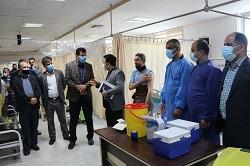 واکسینه نیروهای خدماتی شهرداری آمل