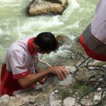 نجات گردشگر مفقود شده در محور هراز