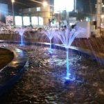 راه اندازی آبنمای میدان ۱۷ شهریور آمل+عکس