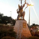 اقدامات واحد زیباسازی شهرداری آمل در آستانه سال جدید+عکس