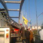 اقدام خودکشی مرد میانسال بر روی پل معلق آمل