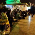 گزارش تصویری مراسم احیا شب بیست ویکم در امام زاده ابراهیم(ع) آمل