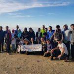 صعود گروه کوهنوردی پارسه آمل به ارتفاعات شیخ موسی بابل