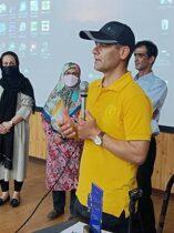 جوان کوهنورد آملی در آستانه کسب جایزه پلنگ برفی